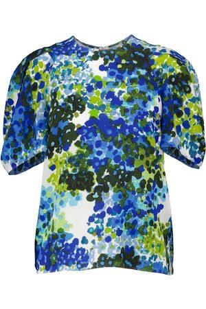 Stella McCartney Bedruckte Bluse Nyla aus Seide