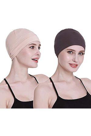 FocusCare Bambus-Schlafmütze für Haarausfall, Kopfbedeckung für Chemo-Frauen, Fahrradhelm, Innenfutter