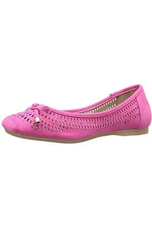 J. Renee Damen Damen Ballett Valeria Flach, Pink (Fuchsia)