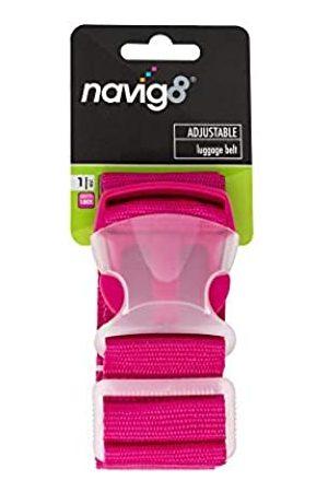 navig8 Verstellbarer Gepäckgürtel von - passend für Koffer bis 180 cm - passend für Koffer, Rucksäcke, Camping/Caravaning, Packhilfe