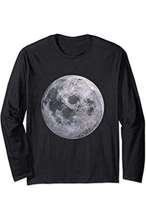 es designs Vollmond-Sonnensystem Astronomie Langarmshirt