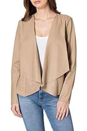 ONLY Damen ONLLIANA Drapy Faux Leather Jacket OTW Jacke