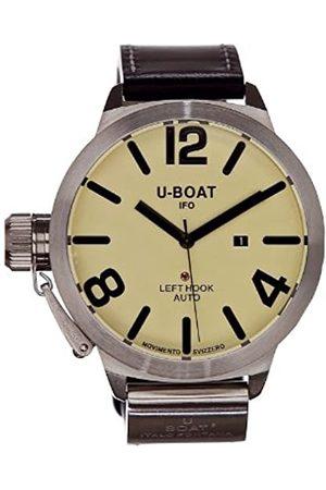 U-BOAT Herren-Armbanduhr Classico AS2 45 Analog Automatik Leder 5565