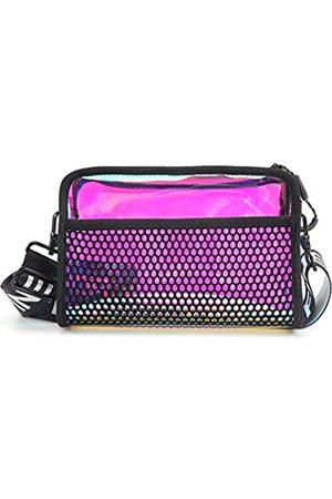 Tingofine Fashion Shiny Neon Crossbody Taschen für Frauen holografische Rave, Festival, Bauchtasche