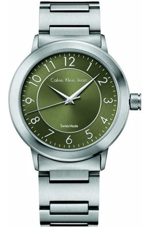 Calvin Klein Herren-Armbanduhr XL Jeans Continual Analog Edelstahl K8711150