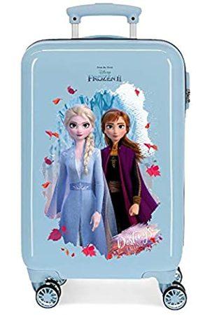 Disney Frozen In The Woods Kabinentasche, 37 x 55 x 20 cm, starr, ABS, seitlicher Zahlenkombinationsverschluss, 34 l, 2,5 kg, 4 Doppelrollen