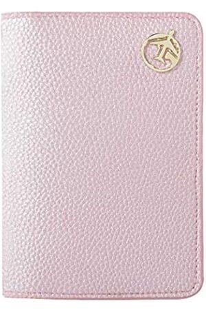 Lychii Reisepasshülle, PU-Leder, Brieftaschenetui für Reisepass, Visitenkarten, Kreditkarten