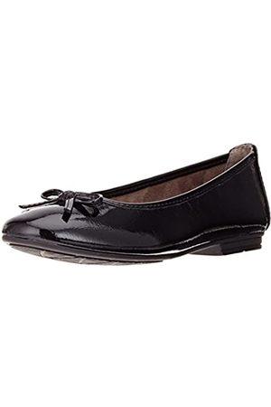 Soft Line Damen 22163 Geschlossene Ballerinas, (black patent)