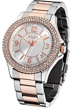 M&M Damen-Armbanduhr Lady Sports M11846-393