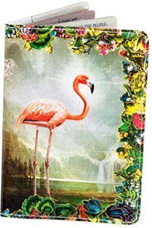 11:11 Jamila Starwater Reisepasshülle im Vintage-Design (Pink) - PP-2316A