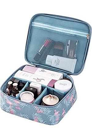 DDILKE Make-up-Tasche, tragbare Reise-Kosmetiktaschen für Frauen und Mädchen, faltbar, multifunktional, wasserdicht