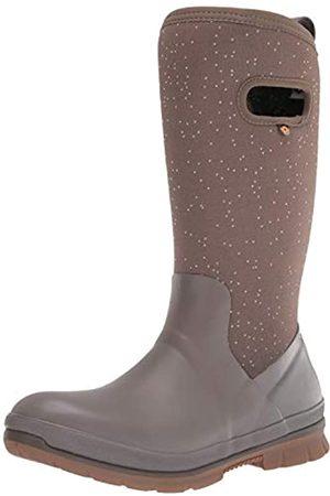 Bogs Damen Crandall Tall Snow Boot Schneestiefel, Speckle Print-Mokka