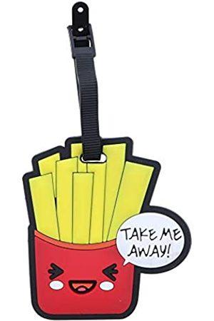 SandT Collection Fun Food Gepäckanhänger für Reisekoffer Ausweishalter (Rot) - STLT0087