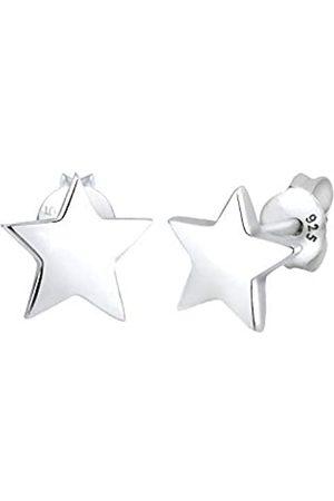 Elli Damen Schmuck Echtschmuck Ohrringe Ohrstecker Sterne Astro Sterling 925