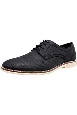JOUSEN Herren Anzugschuhe Retro Plain Toe Business Casual Oxfords Kleid Schuhe für Herren, (Derby Oxford-amy640- )