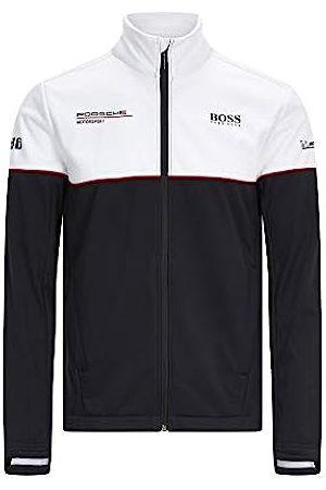 Porsche Design Motorsport Team Softshell Jacke mit Motorsport Kit, schwarz