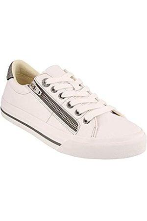Taos Footwear Damen Z Soul Sneaker, Wei� ( /Zinn)