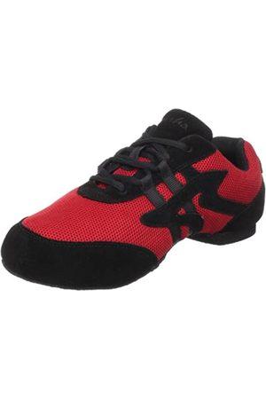 SANSHA Salsette 1, Jazz Sneaker, Red/Black