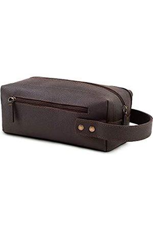 YAYAS PIEL YAYAS Kulturtasche aus Leder – Reise-Set für Damen und Herren – Dopp Kit für Reisen – Große Kosmetik- und Rasiertasche – Toilettenartikel Organizer – handgefertigt