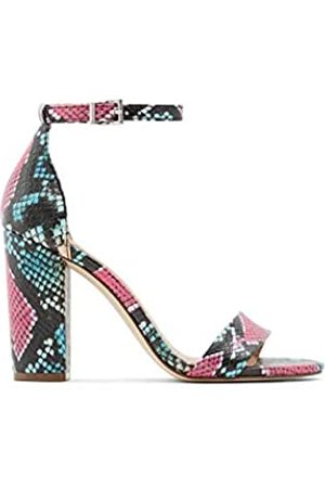 Call it Spring Tayvia Damen-Sandale mit Blockabsatz, Pink (hellrosa)
