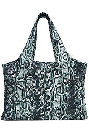 ZOOEASS Bunte große Handtasche für Damen, wasserdichte Tragetasche, multifunktional, Nylon, Reise-Schulter (Schlangenmuster