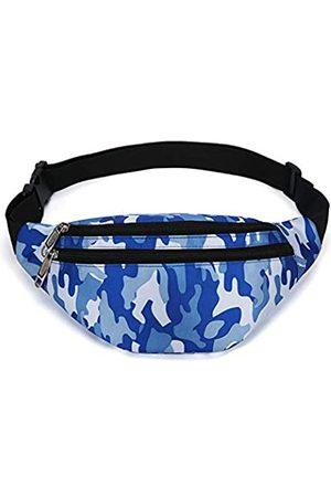 YUNGHE Bauchtasche für Damen und Herren – wasserdichte Hüfttasche mit verstellbarem Gurt für Reisen, Sport