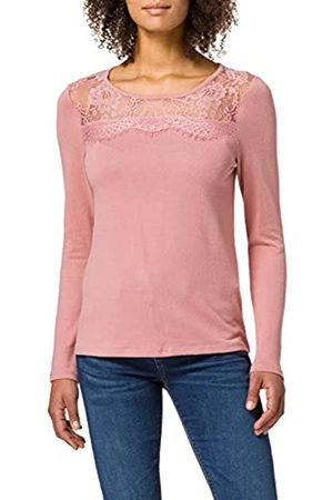 Springfield Damen Camiseta Lace Escote Unterhemd