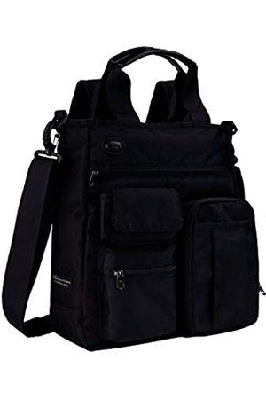 AMJ Kleine Umhängetasche Messenger Bag Crossbody Business Laptop Multifunktionstasche Taschen für Reisen Schule Arbeit Männer & Frauen, ( Größe L)