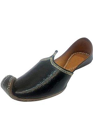 Step N Style Herren Juttis Rajasthani Mojadi Kolhapuri Schuhe Hochzeitsschuhe formelle Juti