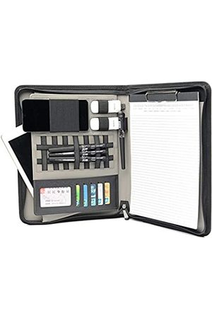 Nother Business-Mappe mit Reißverschluss, Aktentasche, Padfolio-Mappe mit Handy-Tasche