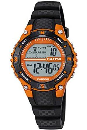 Calypso Unisex Digital Uhr mit Plastik Armband K5684/7