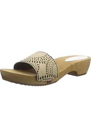 Sanita Damen Dine Round Flex Sandal Pantoletten, ( 24)