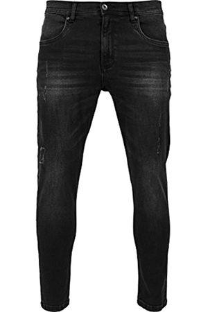 Urban classics Herren Skinny Ripped Stretch Denim Pants Hose