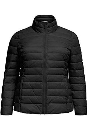 Carmakoma Damen CARTAHOE Quilted Jacket OTW Steppjacke, Black