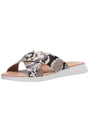 Matisse Damen-Sandalen mit Keilabsatz, Mehrere (Natürliche Schlange)