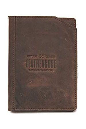 Leathercore Reisepasshülle, Lederetui für Männer und Frauen