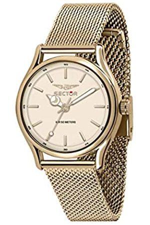 Sector No Limits Damen Analog Quarz Uhr mit Edelstahl Armband R3253517502