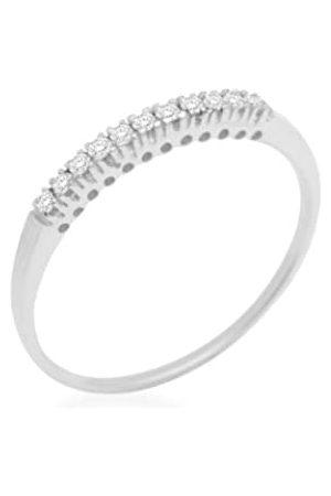Miore Damen-RingSterling-Silber925Diamant58(18.5)MCS08AR