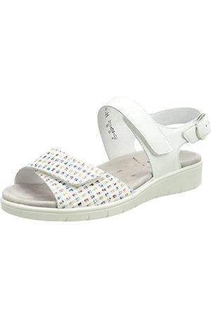 Semler Damen Dunja-D4 Sandale, weiss