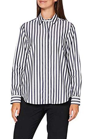 Seidensticker Damen Bluse Fashion Bluse Regular Fit Langarm – 100% Baumwolle