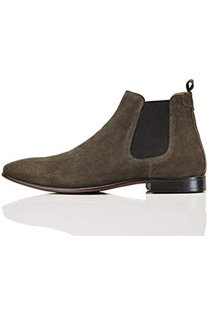 FIND Albany Suede Chelsea Boots, (Charcoal)