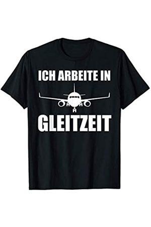 Flugzeuge & Flieger Motive Flugzeug Pilot Fliegen Herren Geschenk T-Shirt