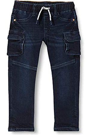 Noppies Baby-Jungen B Regular fit Pants Sterkstroom Denim Jeans, Black Blue Wash-P613