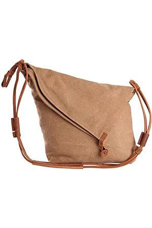 Tom Clovers Umhängetasche für Damen, Segeltuch, Kuriertasche, Weekender, modische Tasche, (Khaki Upgrade)