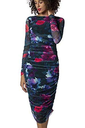 Apart APART Damen Mesh-Kleid aus weichem, elastischem Mesh