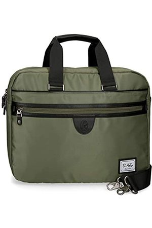 El Potro Pipe Anpassbare Laptop-Aktentasche 40x32x8 cms Polyester 15
