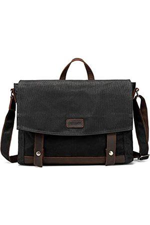 monhinty Herren Messengertasche, wasserdicht, 39,6 cm (15,6 Zoll), große Schultertasche