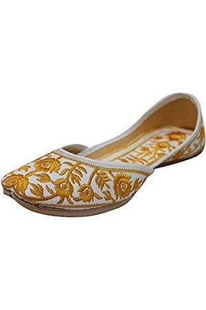 Stop n Style Punjabi Jutti Flip Flop Casual Khussa Schuhe Ethnische Schuhe Mojari Schuhe