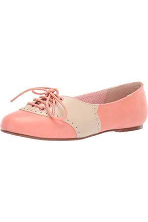 Bettie Page Damen Bp100-halle Ballerinas, Pink (pfirsich)