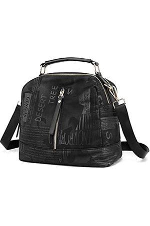 DOURR Kleine Crossbody-Taschen für Frauen, mehrere Taschen, Handtaschen, weiches Nylon, Reise-Hobo-Taschen